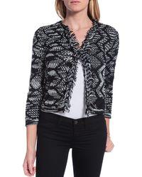 M Missoni Crochet Jacket - Lyst