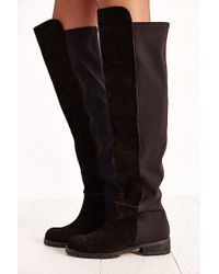 Silence + Noise Over-The-Knee Suede Boot - Lyst