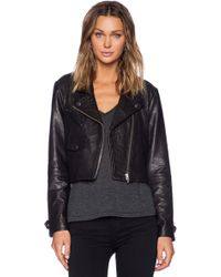 Veda Black Punch Jacket - Lyst