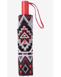 Express Aztec Print Umbrella