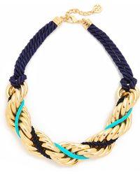 Ben-Amun - Braided Necklace - Lyst