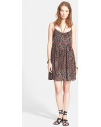 Free People Periscopes In The Sky Babydoll Dress - Lyst