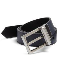 Burberry Leather Belt - Lyst