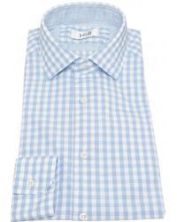 Jules B Formal Gingham Shirt - Lyst