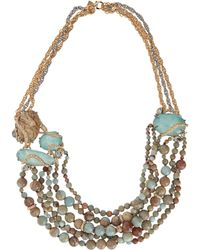 Alexis Bittar - Imperial Jasper And Amazonite Beaded Strand Necklace - Lyst