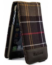 Barbour - Tartan Flip Iphone Case - Lyst