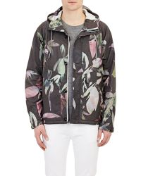 Paul Smith Floral Hooded Anorak - Lyst