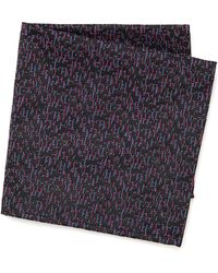 Marwood Dashline Pocket Square - Lyst