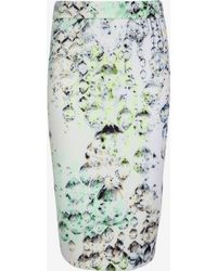 Ted Baker Crystal Droplets Pencil Skirt - Lyst