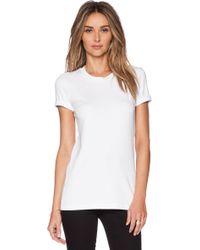 Theory Johnna Cotton T-Shirt - Lyst