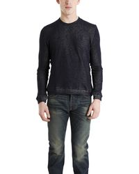 Naked & Famous - Slim Crew Pullover - Lyst