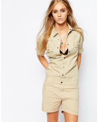 Zadig & Voltaire Safari Playsuit - Lyst