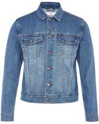 Cheap Monday Staple Denim Jacket blue - Lyst