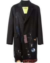 Raf Simons Limited Edition Double Faced Coat - Lyst