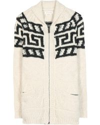 Etoile Isabel Marant Tawny Wool And Cotton-Blend Cardigan - Lyst