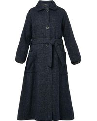 Isabel Marant Evana Softtweed Fulllength Coat - Lyst