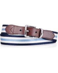 Polo Ralph Lauren Striped Belt - Lyst