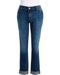 Eileen Fisher Boyfriend Jeans - Lyst