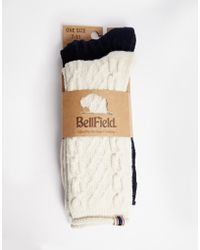 Bellfield - 2 Pack Socks - Lyst