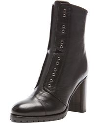 Jimmy Choo Leather Datchet Leather Combat Boots - Lyst