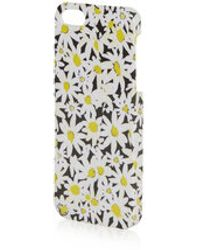 Topshop Daisy Floral Print Iphone 5 Cover - Lyst