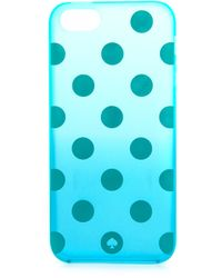 Kate Spade Ombre Dot Iphone 5 5s Case  - Lyst
