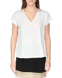 Y.A.S Short Sleeve Top - Lyst