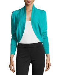 Natori Riza Bolero Silk Cashmere Sweater - Lyst