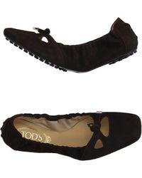 Tod's | Ballet Flats | Lyst