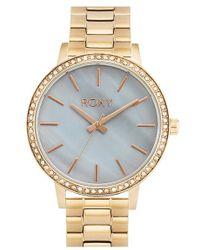 Roxy - 'the Bells' Round Bracelet Watch - Lyst