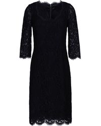 Dolce & Gabbana 3/4 Length Dress black - Lyst