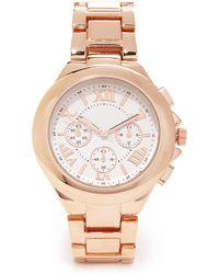 Forever 21 - Chronograph Bracelet Watch - Lyst