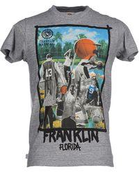 Franklin & Marshall | gray T-shirt | Lyst