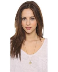 Phyllis + Rosie - Cecile Necklace - Gold - Lyst