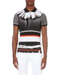 Diesel T-Hiroe Printed Cotton Polo Shirt - For Men - Lyst