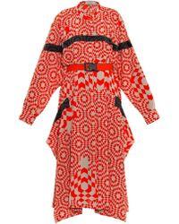 Preen Lando Starbox-print Dress - Lyst
