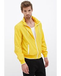 21men Hooded Highneck Jacket - Lyst