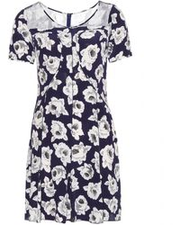 Nina Ricci Silk Dress - Lyst
