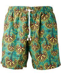 Bantu - Print Swim Shorts - Lyst