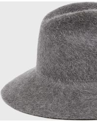 Ryan Roche - Fur Felted Hat - Lyst
