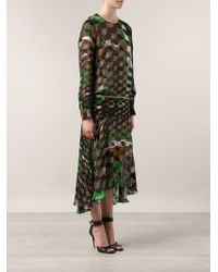 Preen Printed Dress - Lyst