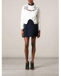 Carven - 'Dove' Sweatshirt - Lyst