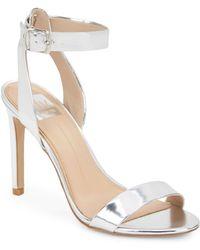 DV by Dolce Vita Berkeley Metallic High-Heel Sandals - Lyst