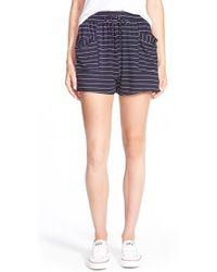 The Hanger - Stripe Shorts - Lyst