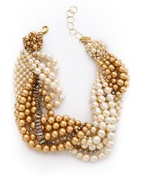 Aerin Erickson Beamon - Twisted Necklace - Lyst