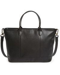Longchamp | 'le Foulonne' Leather Shoulder Tote | Lyst