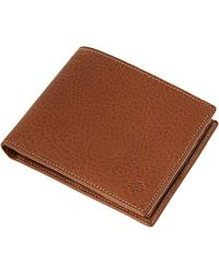 Mulberry Folding Leather Wallet - Lyst