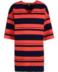 DKNY Short Sleeve Sweater - Lyst