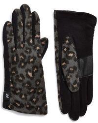 Echo - 'touch - Cheetah Print' Gloves - Lyst