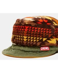 Chums - Fleece Geometric Hat - Lyst